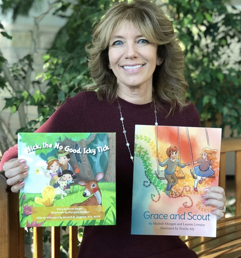 """Holly Zelinsky - """"Holly Zelinsky is definitely someone who inspires others, all along facing her own challenges while battling Lyme Disease. Holly has started Lyme Awareness Minnesota with a very focused purpose--to educate the children all over Minnesota about ticks and Lyme Disease! She has been working tireless to fund two book which inform children about ticks and how you can get sick from them, as well as instilling empathy in those who may not understand why a friend is ill. Holly wants these books, 'Nick, the No Good Icky Tick' and 'Grace and Scout', to be in the libraries of every elementary school library across the entire state! How awesome is that!! In previous years she has also hosted a very successful Lyme Walk through the Mall of American and a wonderful Gala, raising much needed money for two different organizations.Holly Sunshine, her Facebook page, is truly that--a beautiful ray of sunshine and beacon of hope for so many not only in Minnesota but across the country! Even during her days of illness, she was fighting for others. She is always providing support to anyone who needs advice or help. Holly truly exudes the character of a person who inspires others! She certainly inspires me:)"""""""
