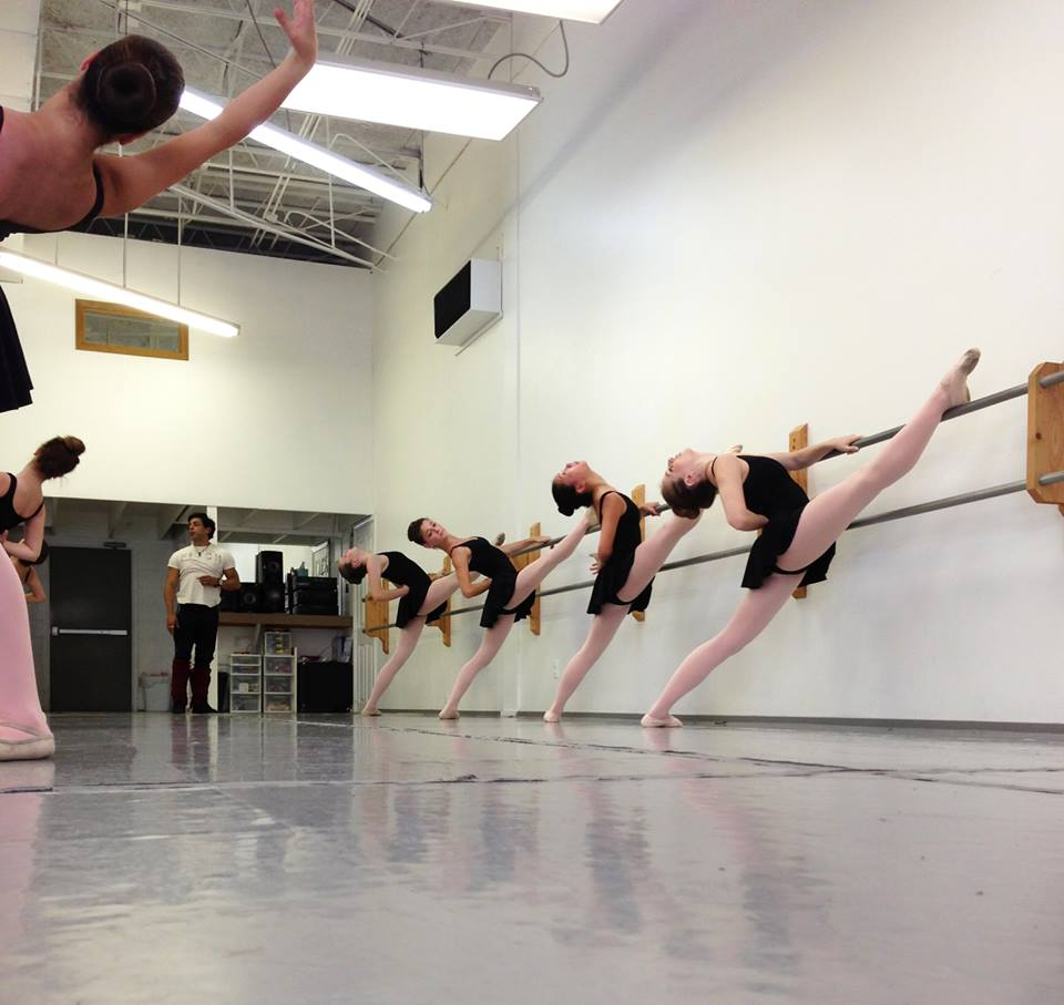 Level 4 Ballet Students