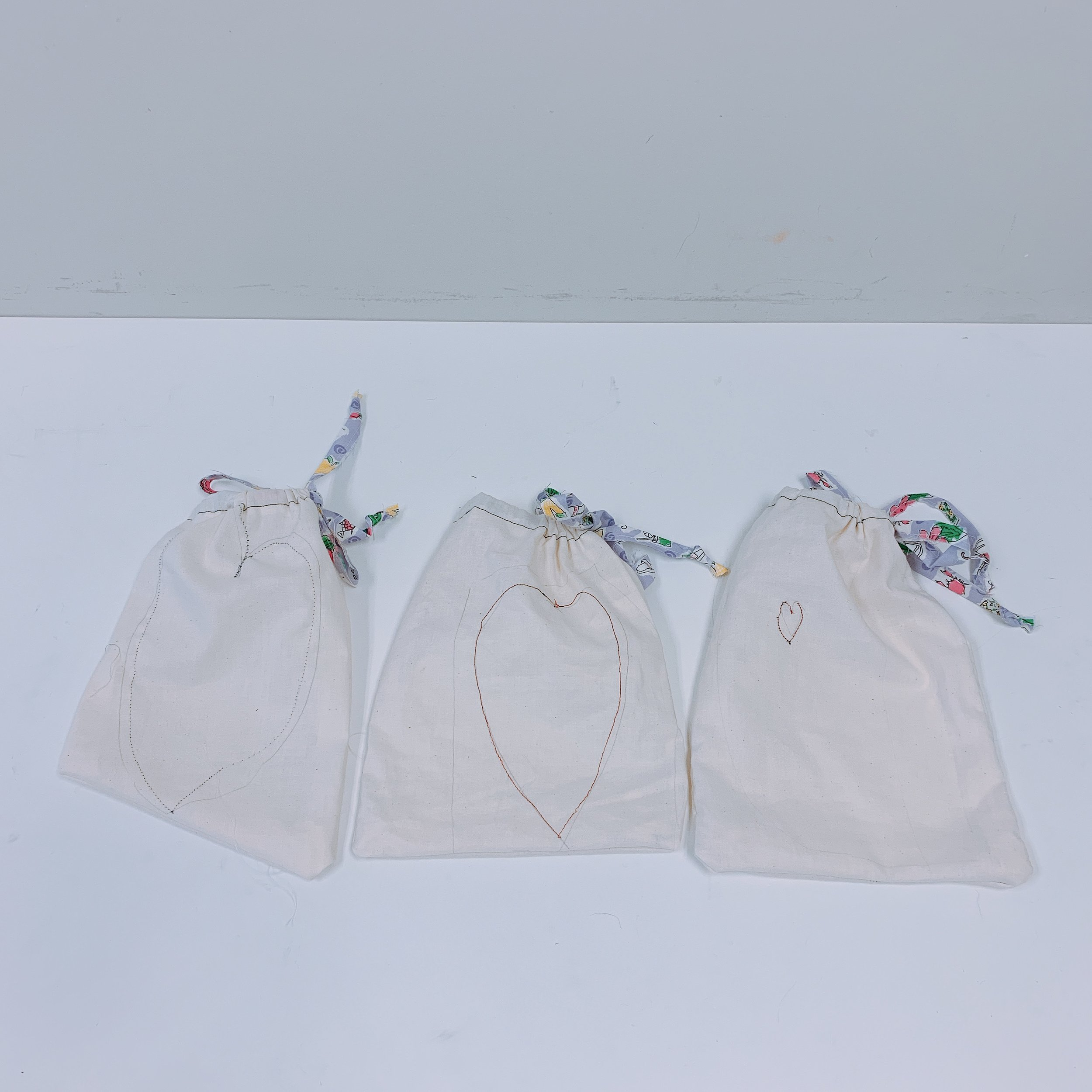 Sewn Pouches, Embroidered Hearts, & Fashion Design - Week 2 June 10-14