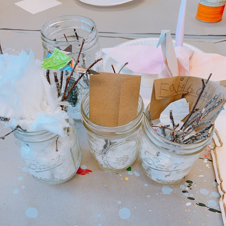 Crafting Origami Jars & Origami Lamp - Week 3 June 17-20