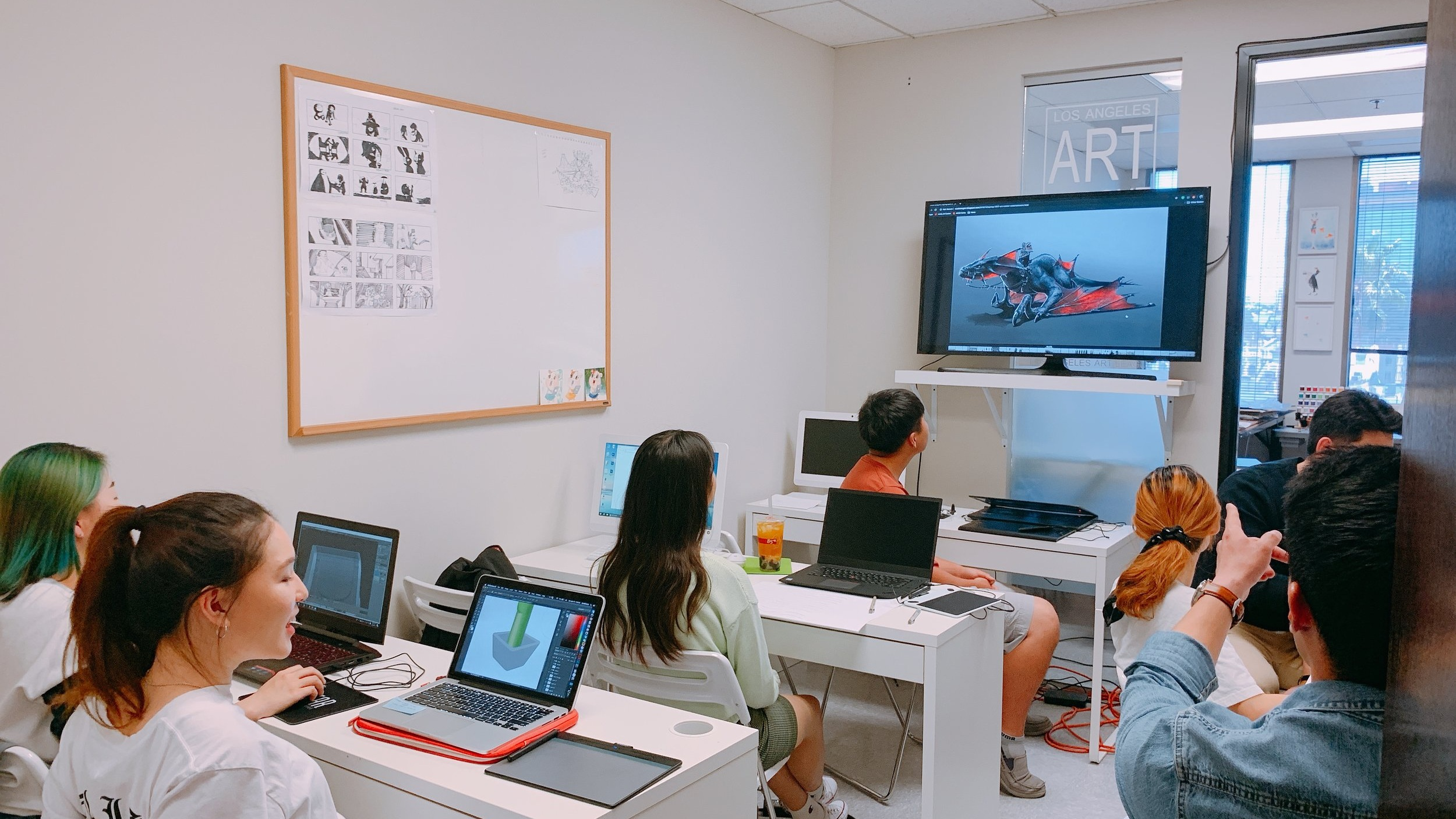 DIGITAL ARTS CLASS - Students will learn how to do the basics of Adobe Photoshop, Illustrator, InDesign, etc