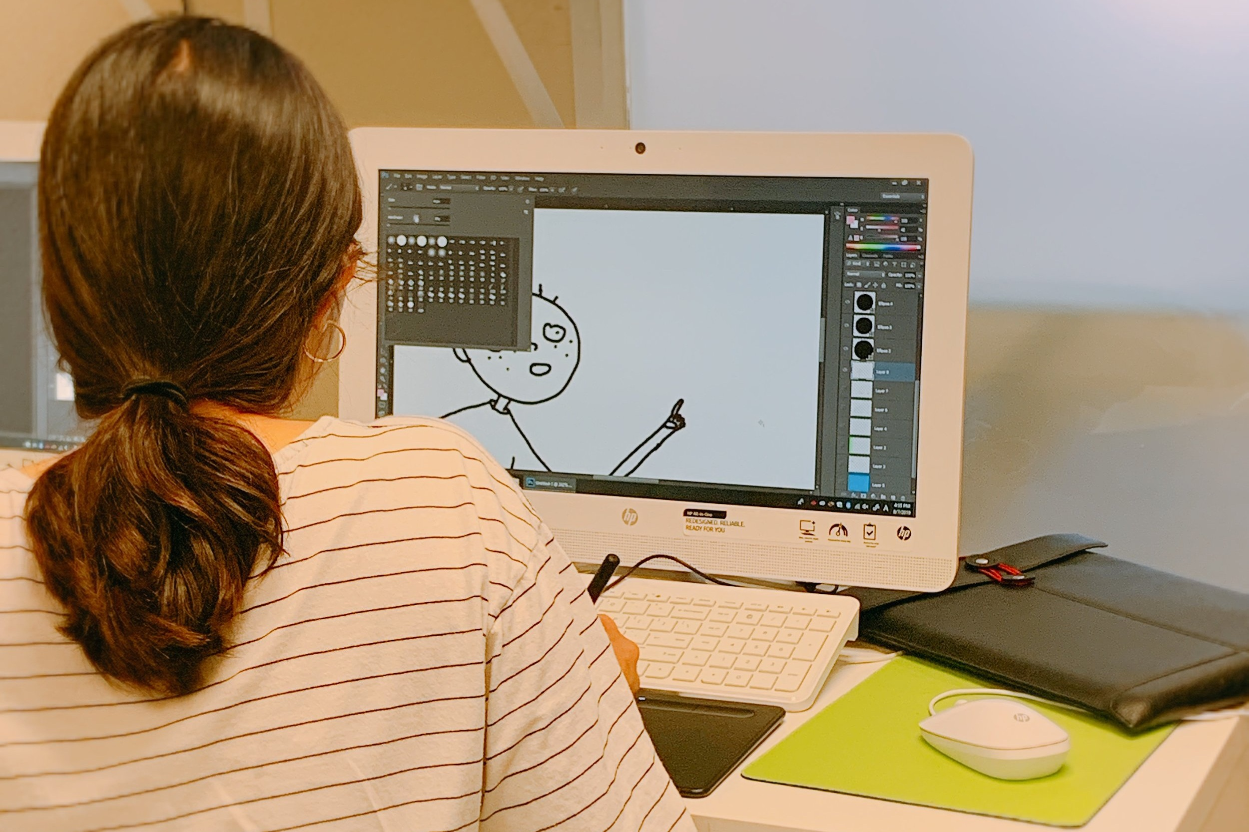 DIGITAL ARTS CLASS - Students will learn how to do the basics of Adobe Photoshop, Illustrator, InDesign, etc.
