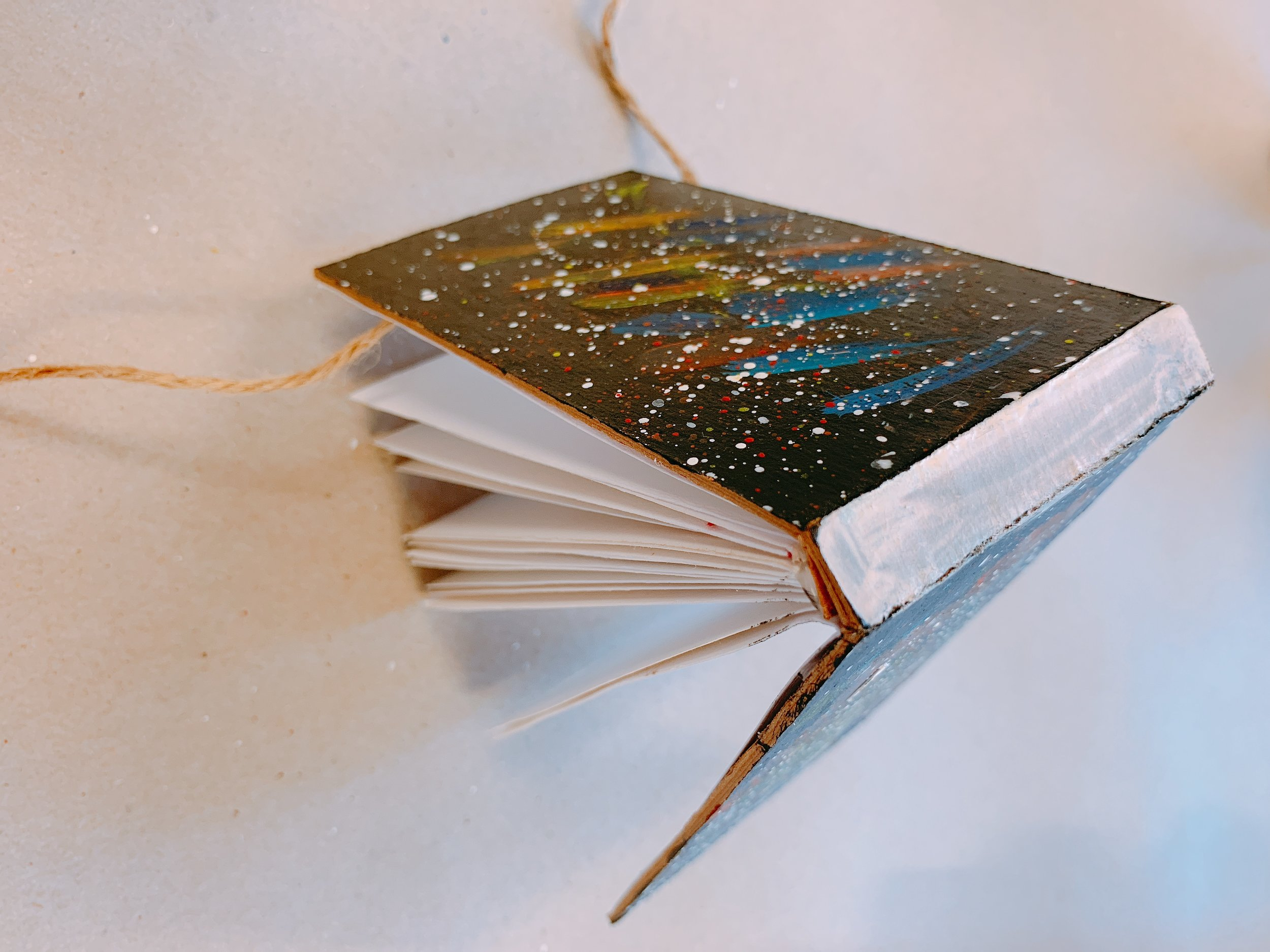 BOOK BINDING/ ILLUSTRATION CLASS - Students will illustrate their own books in this class and also learn how to kettle stitch bind their books and design their own art notebooks