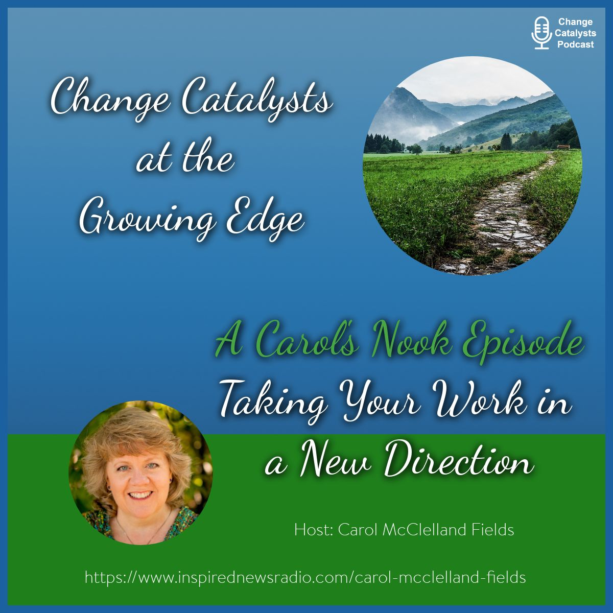 Ep 14 Change Catalysts Podcast - Carol McClelland - Taking Your Work in a New Direction.jpg