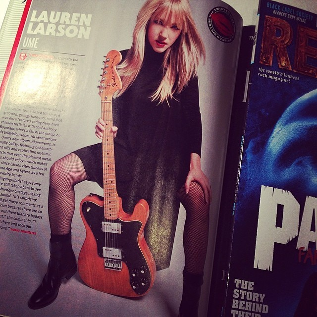 In this month's REVOLVER Magazine!