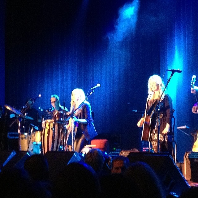 """Performing Neil Young's """"Hey Hey My My"""" on stage with Nancy Wilson of Heart! What an amazing night! (at The Fillmore)"""