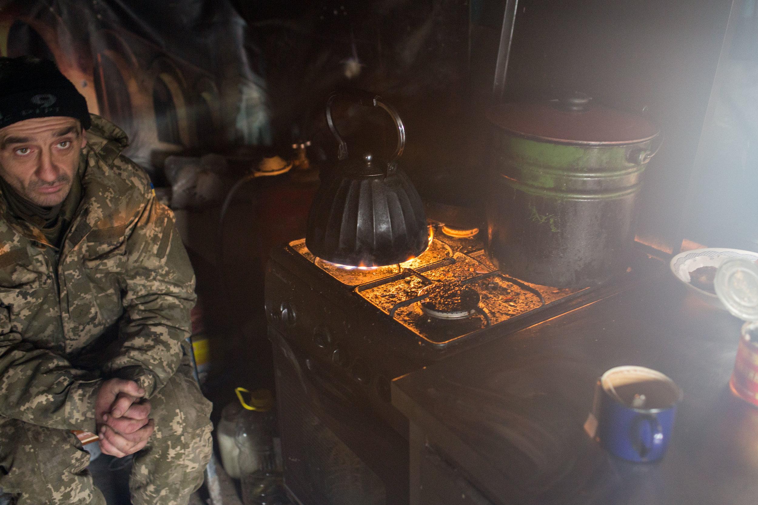 Frozen Lives, Not-So-Frozen Frontlines - Donetsk, Ukraine