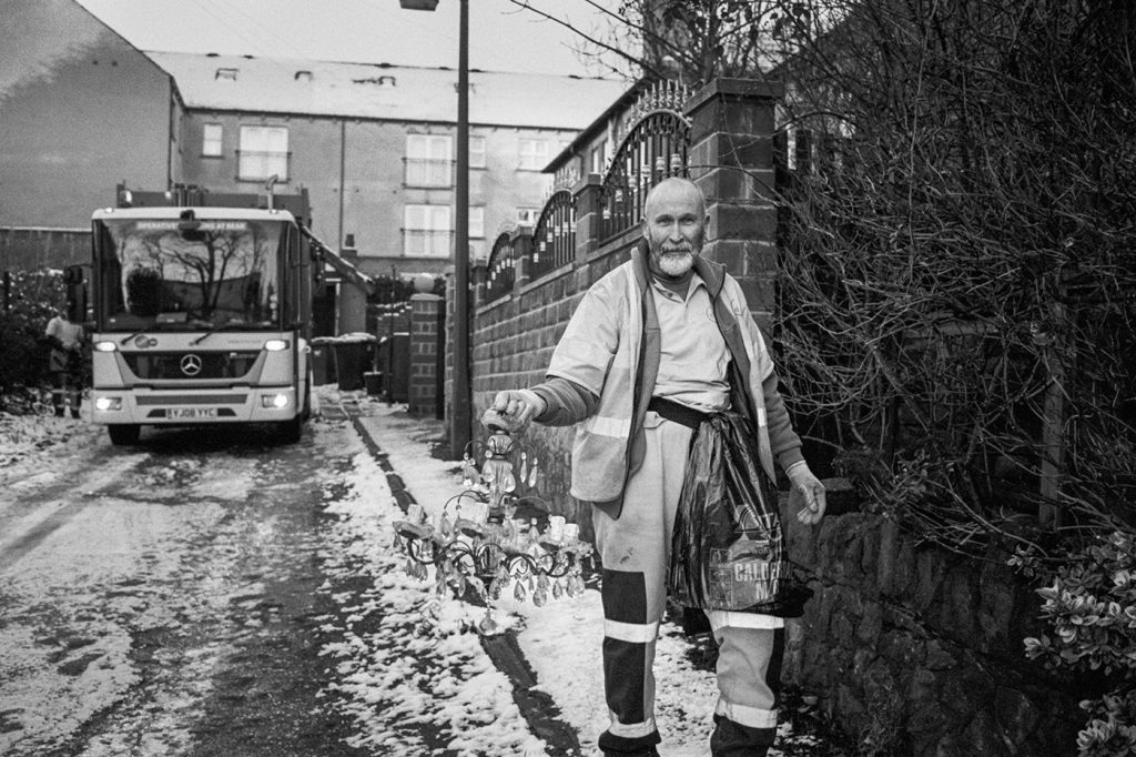 The Refuse Collector - London, England