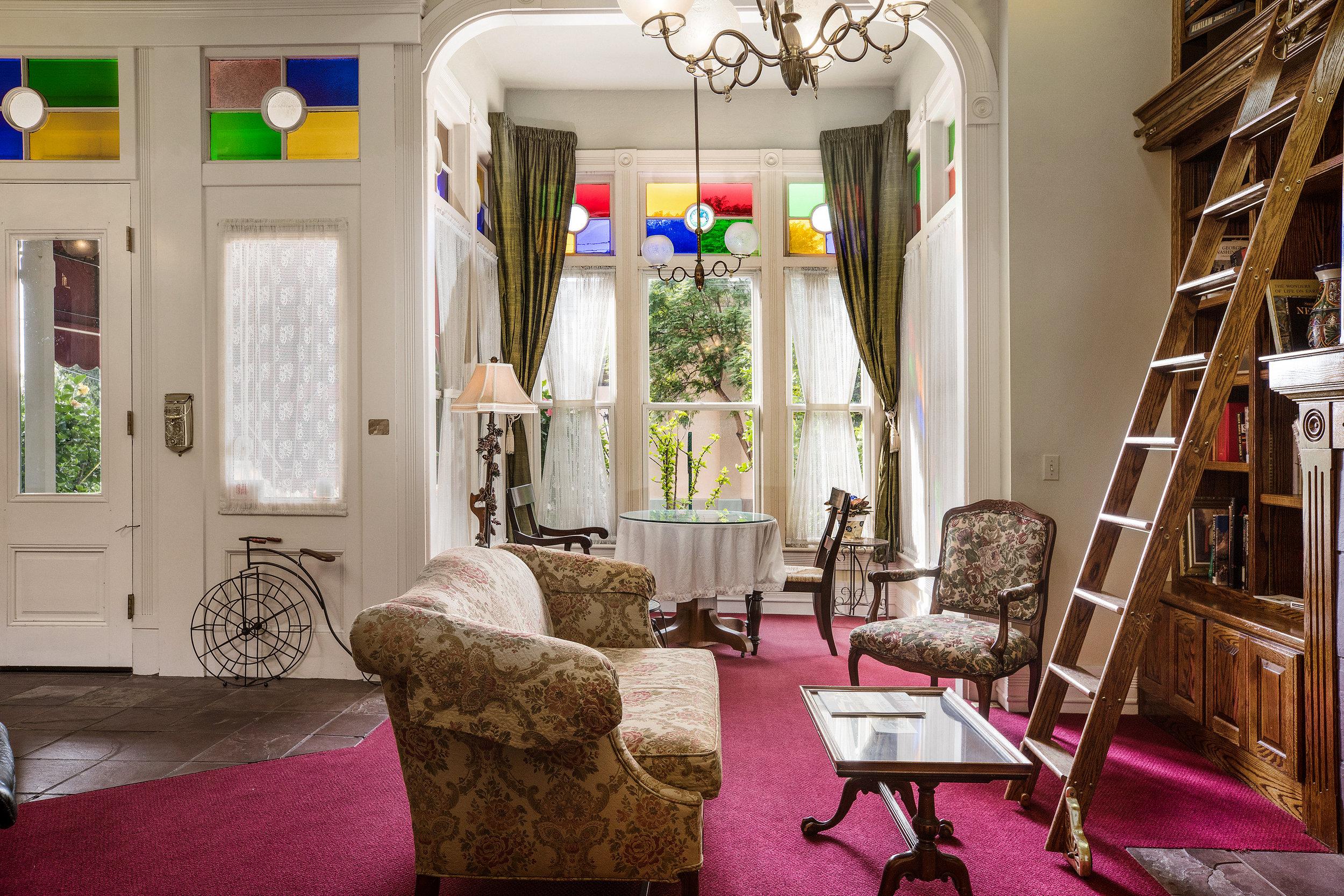 Garden Street Inn sitting room
