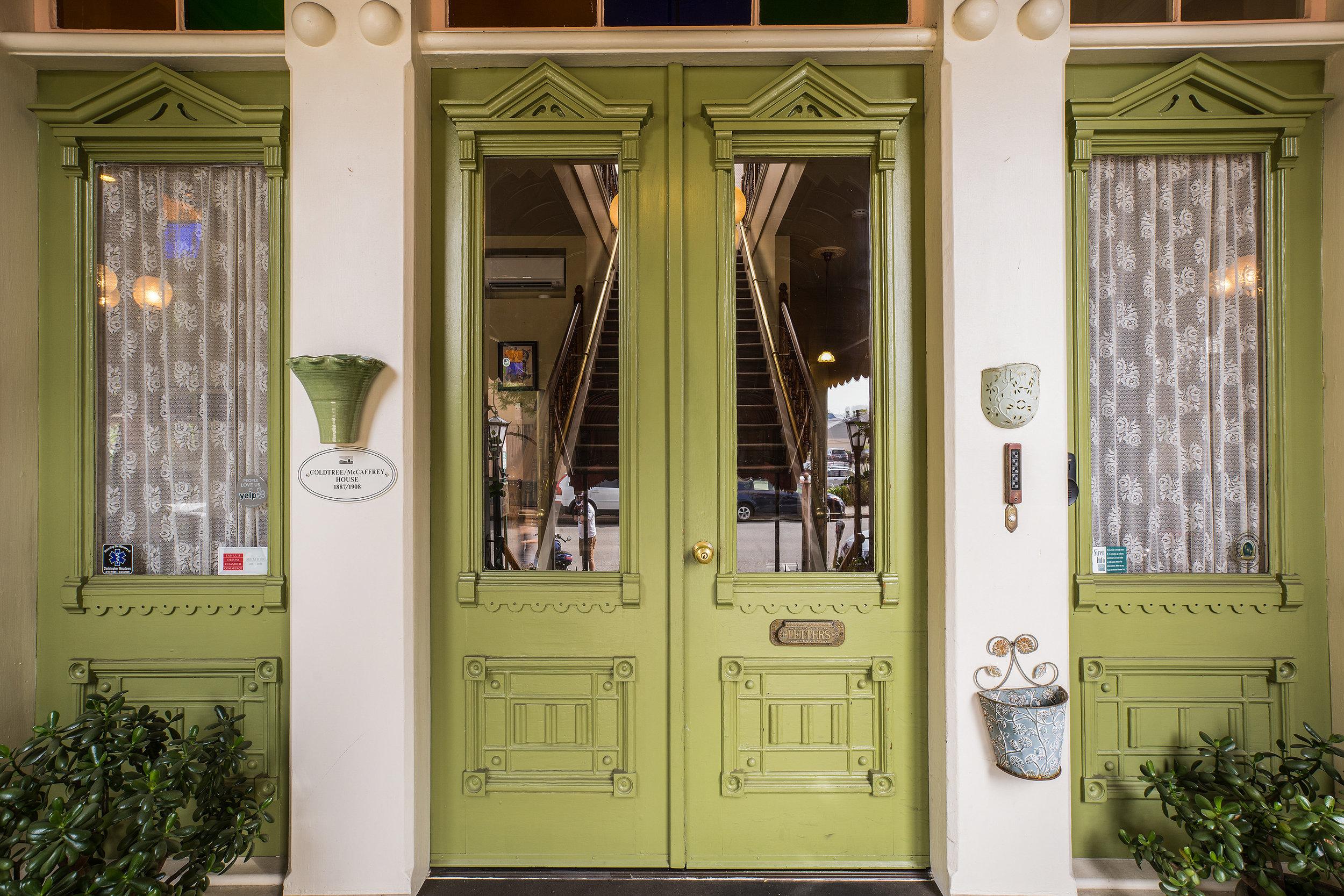 Garden Street Inn enterance