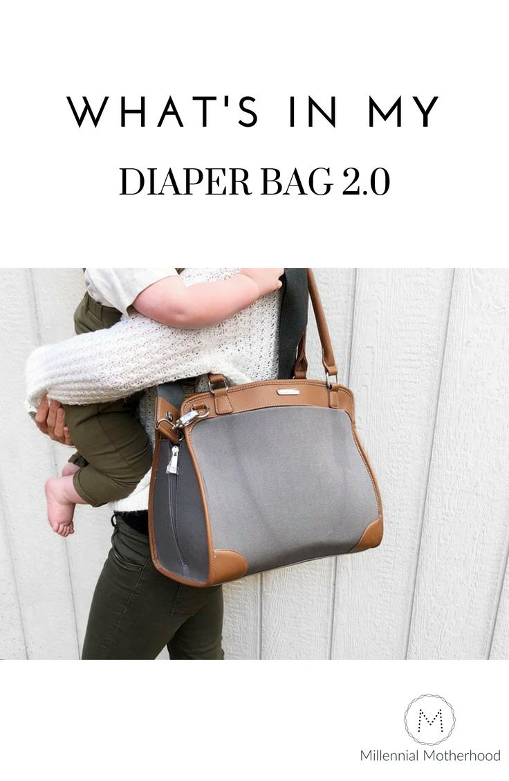 Millennial Motherhood - What's In My Diaper Bag 2.0