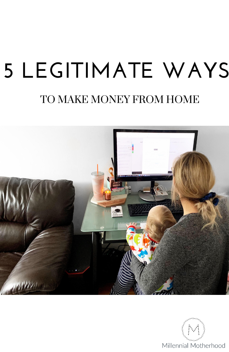 5 ways YOU can make money from home