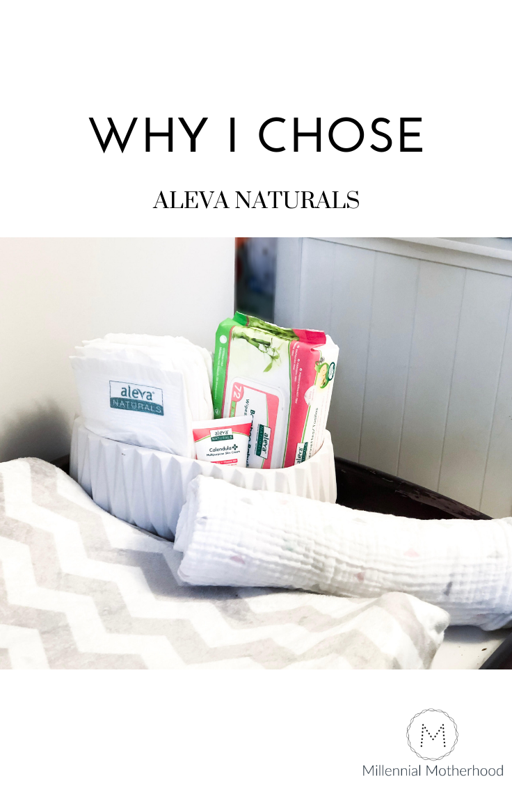 MIllennial Motherhood - Why I chose Aleva Naturals