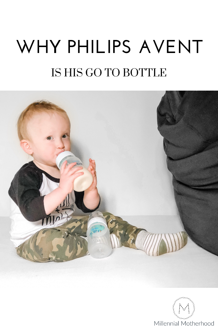 Millennial Motherhood - Why Philips Avent Is His Go To Bottle