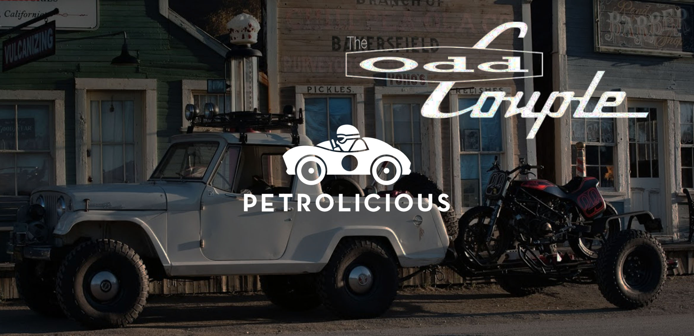 Petrolicious Interview is online! - Check out the what I have to say about Jeeps and bikes.