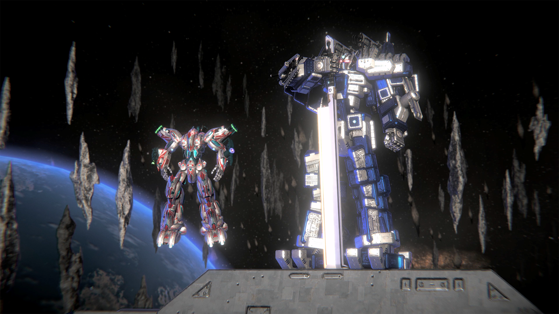 Pilot your very own mecha to defeat the evil Zatros empire!