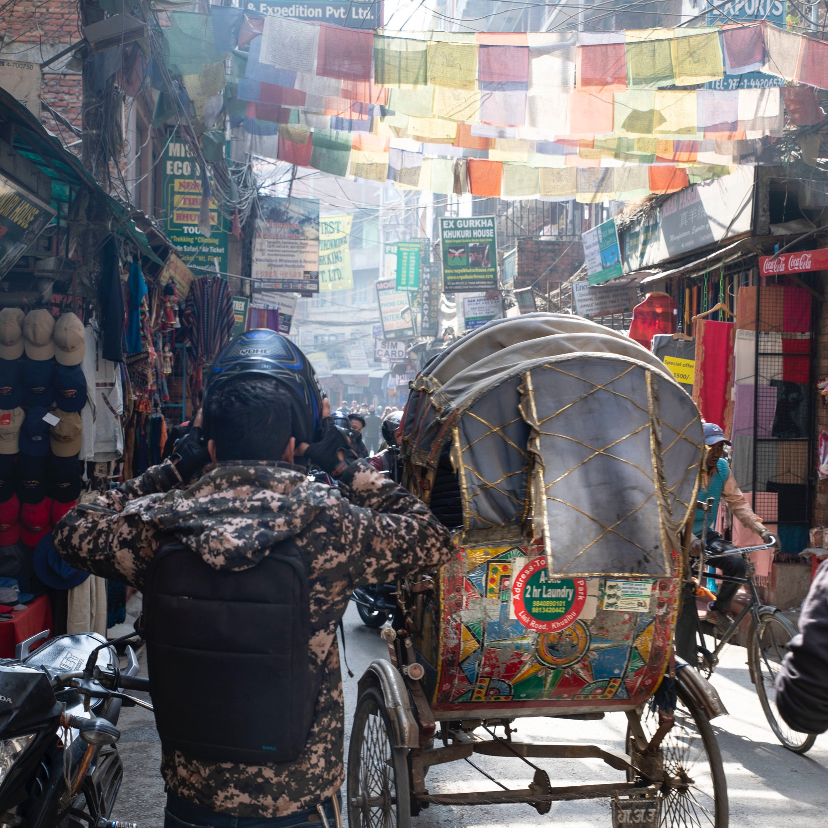 March 17 - Welcome to Kathmandu!Transfer to your centrally-located hotelWelcome dinner featuring traditional foods and dance