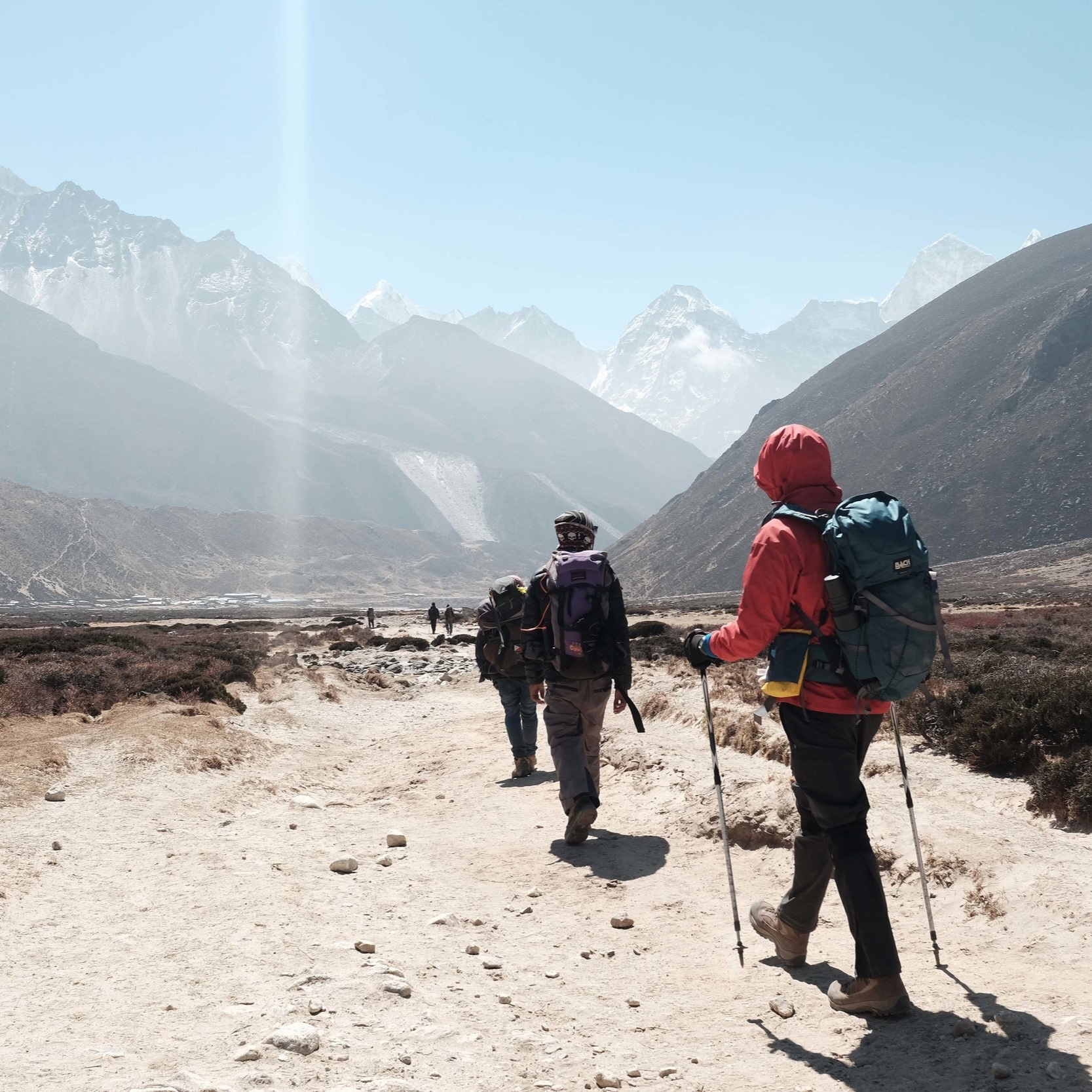 """March 22 - Gentle day of trekking on """"Nepali flat"""" terrain… a little up, a little downFollow a trail along a ridge through a forest, before it opens up in a pasture and you arrive at ChistibungEvening guided meditation"""