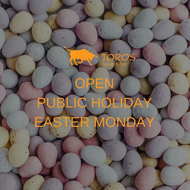 We are open for the Public Holiday Easter Monday 🤩🥳 Join us for Easter Feasting 🍽 and thank our staff for their hard work in keeping us fed, loved and wined up across the 4 Day Weekend 🤗  #eatdrinkrelax #torostapasandbardarlingharbour