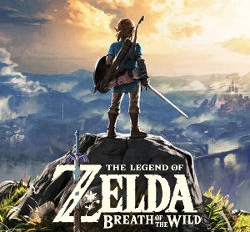 Legend of Zelda BOTW Cover Art