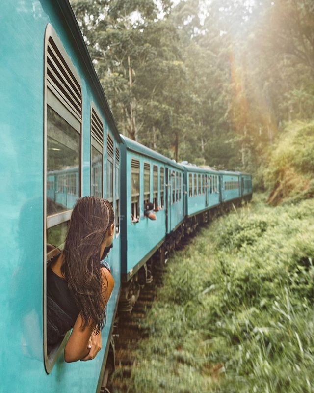 A donde la vida me lleve 🚂 . . . #memories #ella #travelphotography #travelgram #viajar #srilanka #travellingthroughtheworld #giveaway #traveltheworld