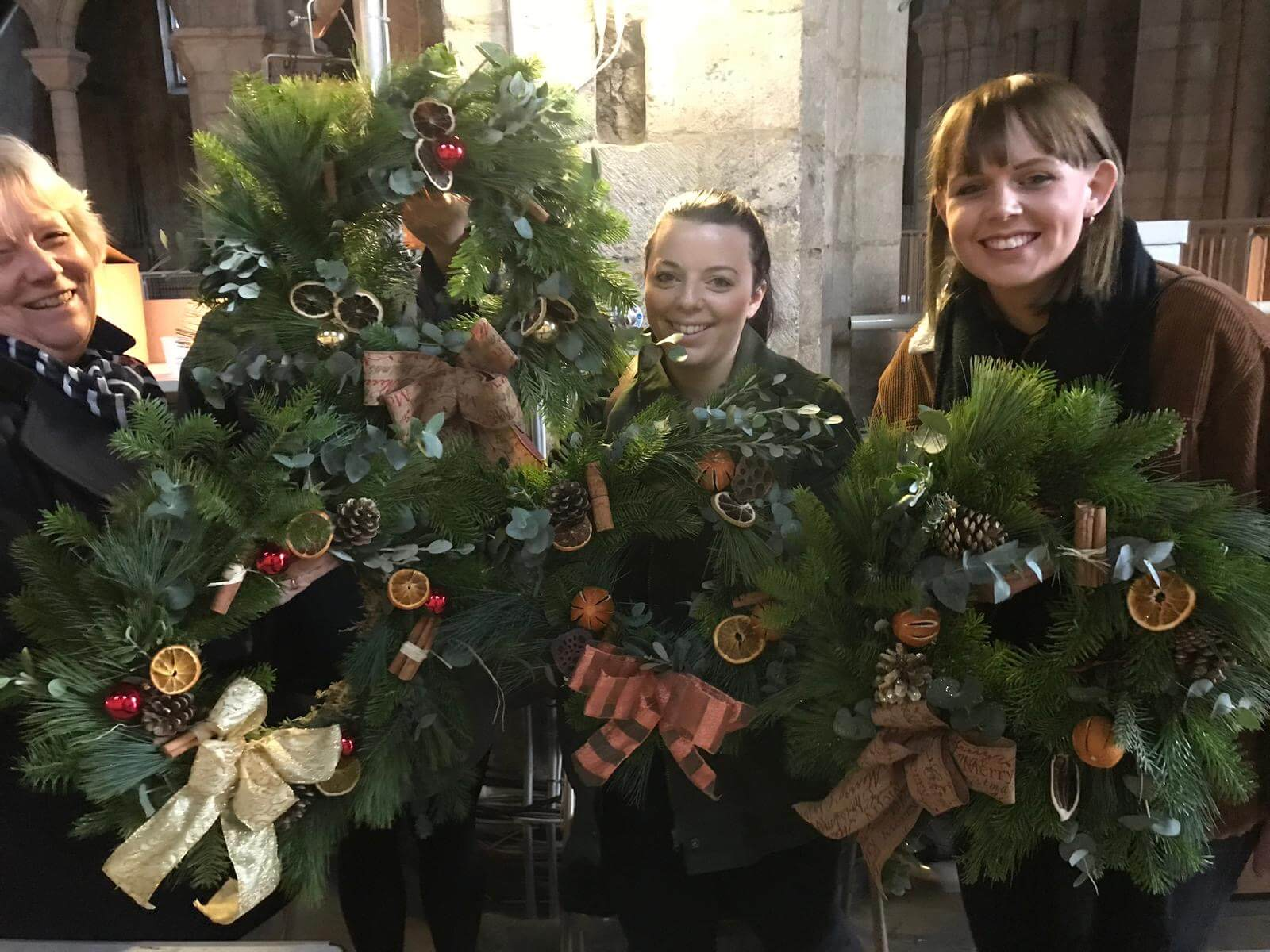 Christmas Wreath Making Workshop Ely Cambridgeshire 2nd December (9).jpg