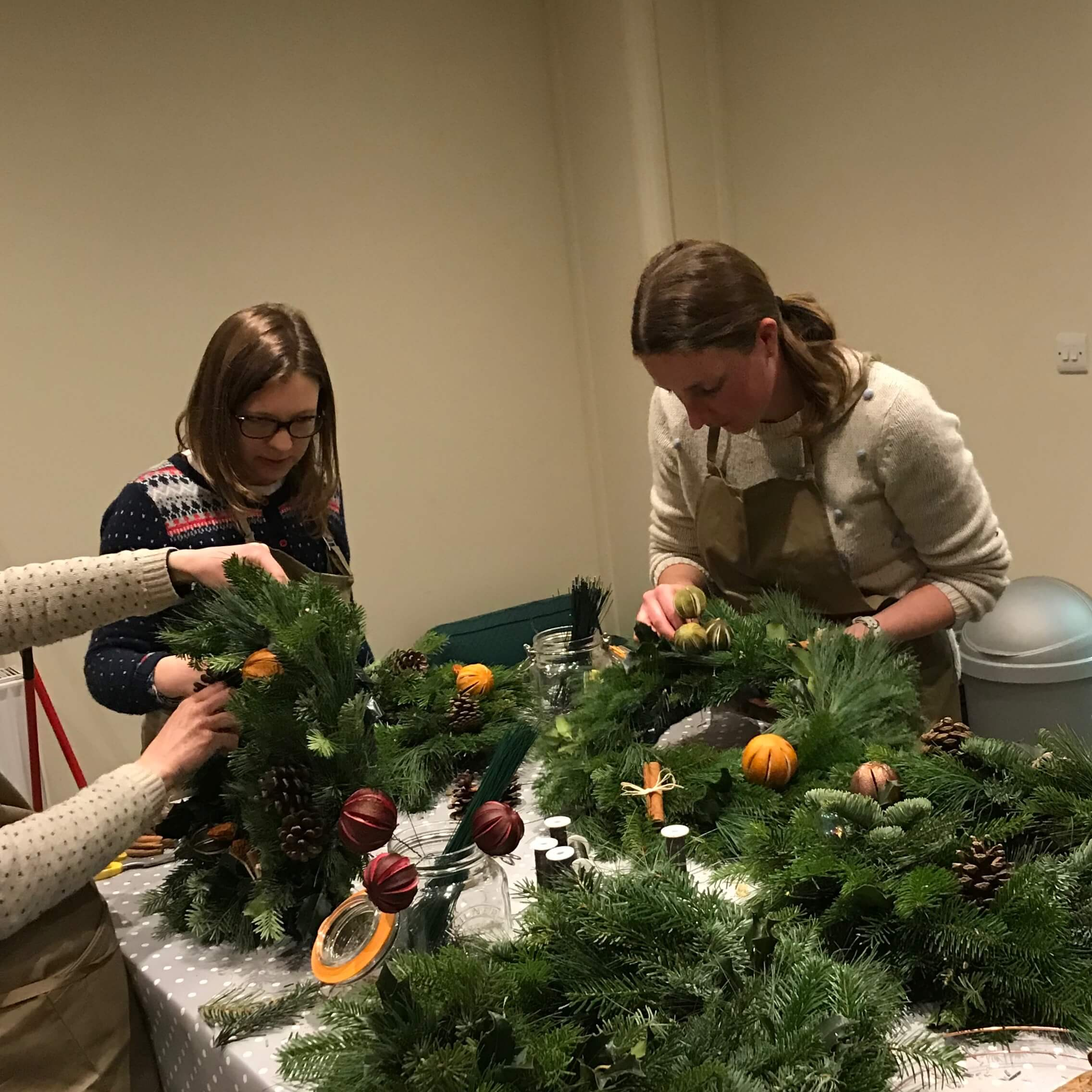 Private Christmas Wreath Making Workshop December 2018 (4).jpg