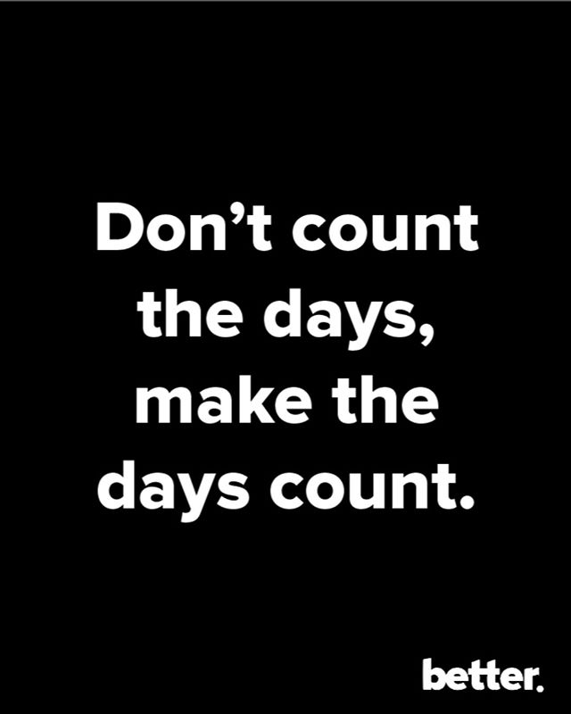 Go crush your Monday fam!  #bebetter