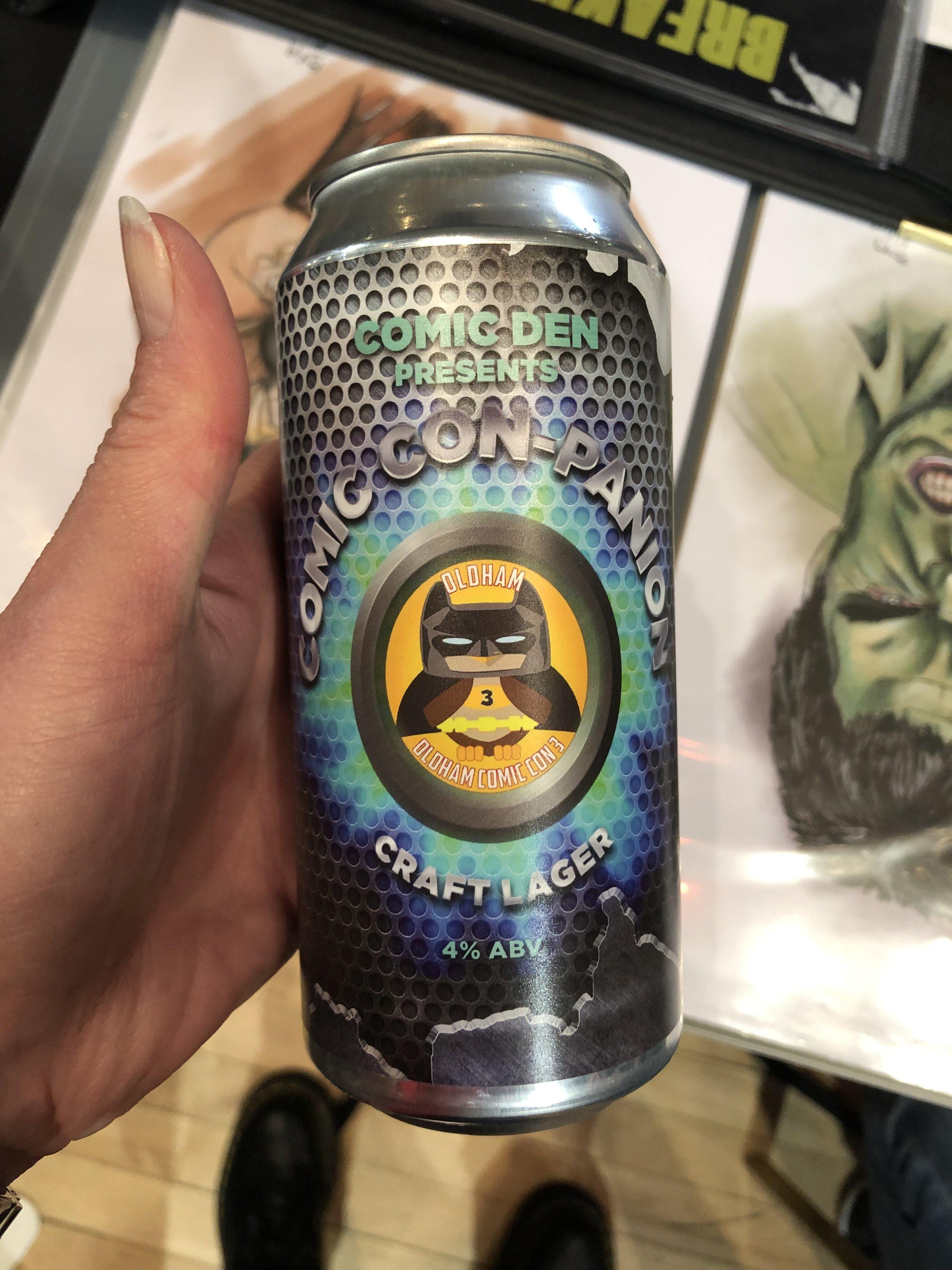 Comic Com beer!!!