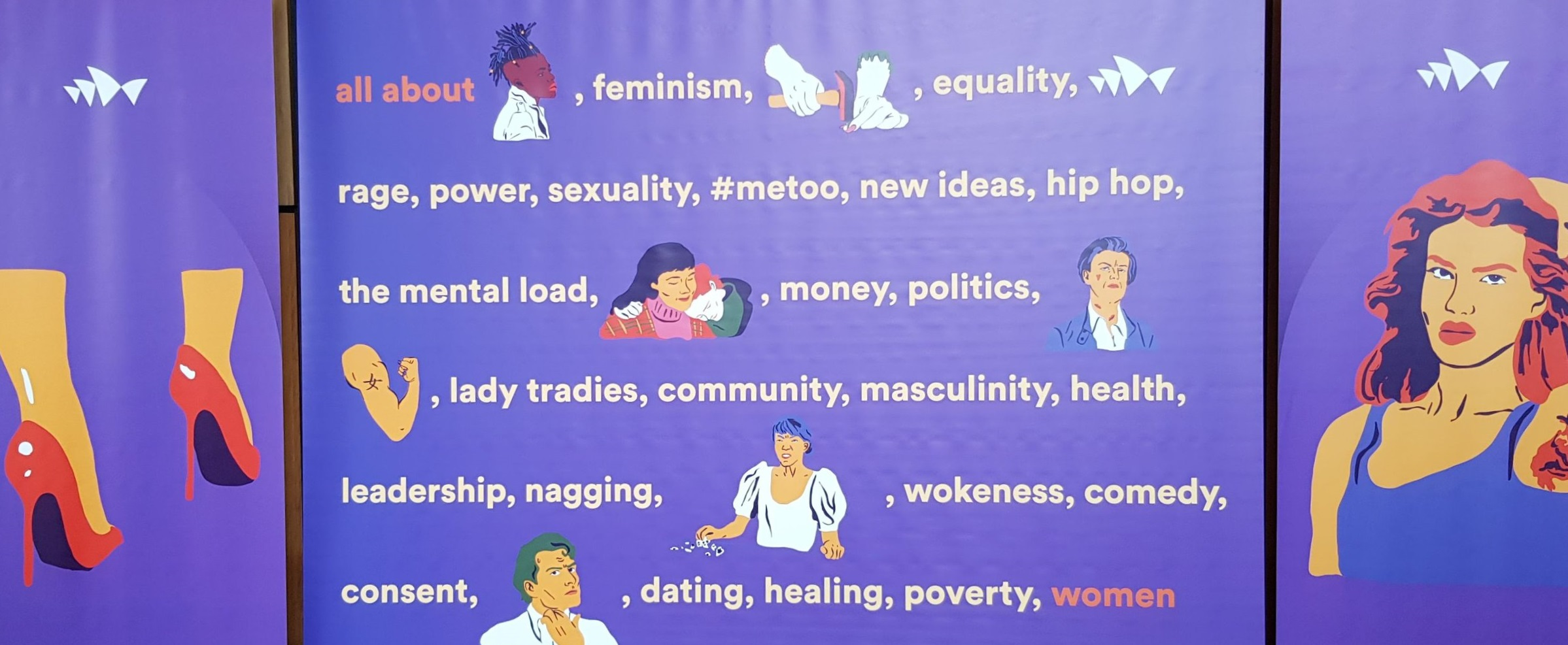 Foyer Photo-Op at Sydney Opera House's  All About Women  Day