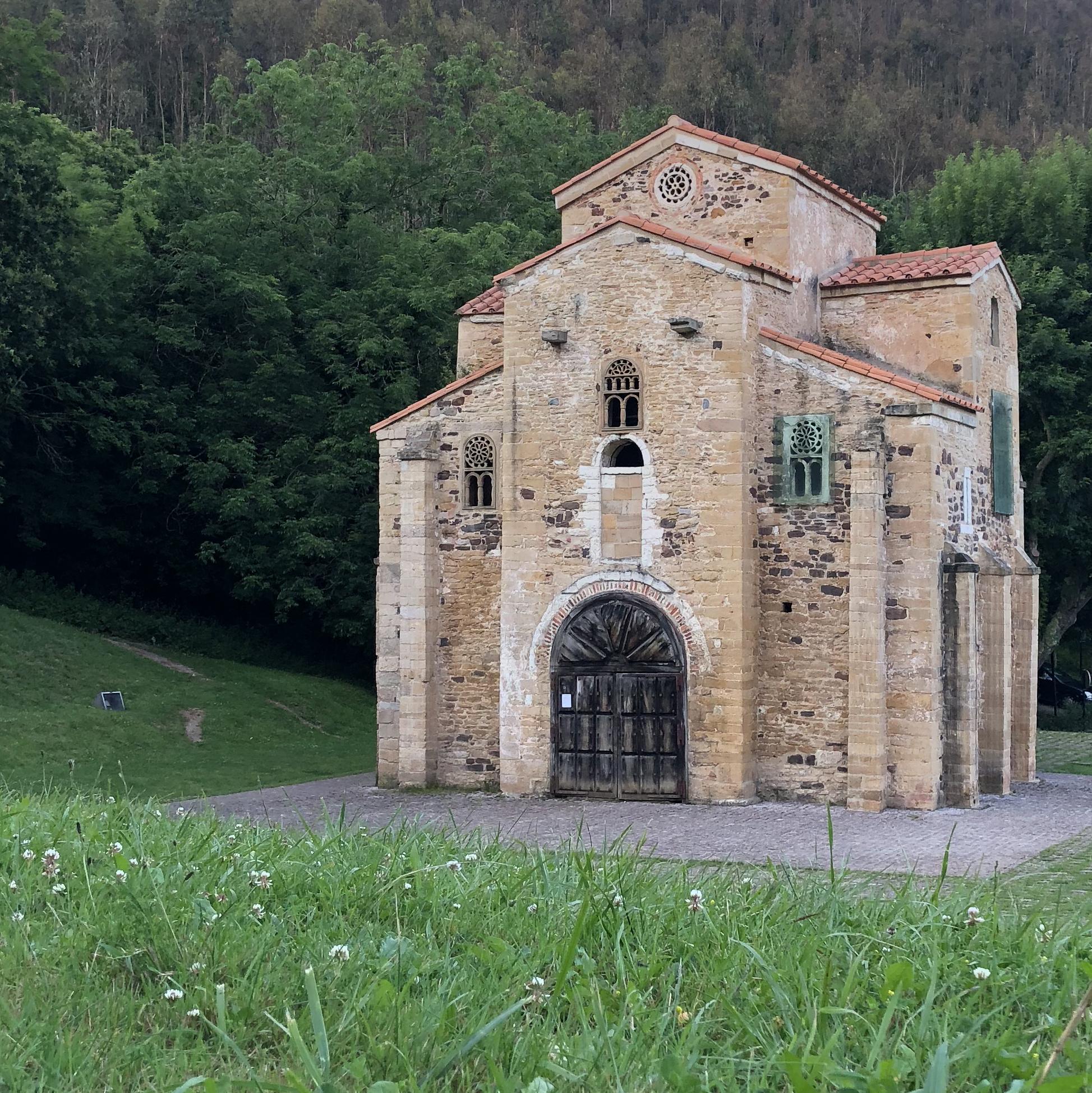 San Miguel de Lillo, pre-Romanesque masterpiece, in Oviedo.