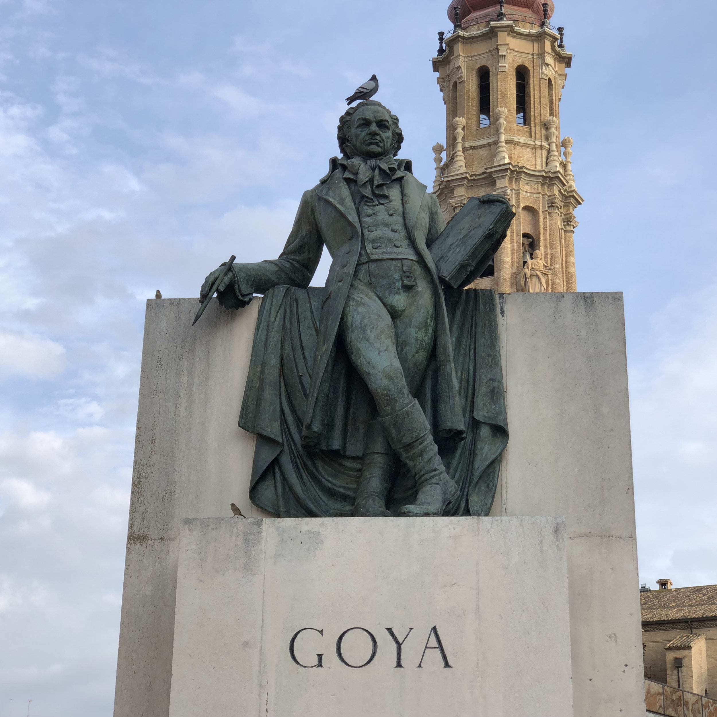 Tribute to a universally-acclaimed Aragonese: Goya.