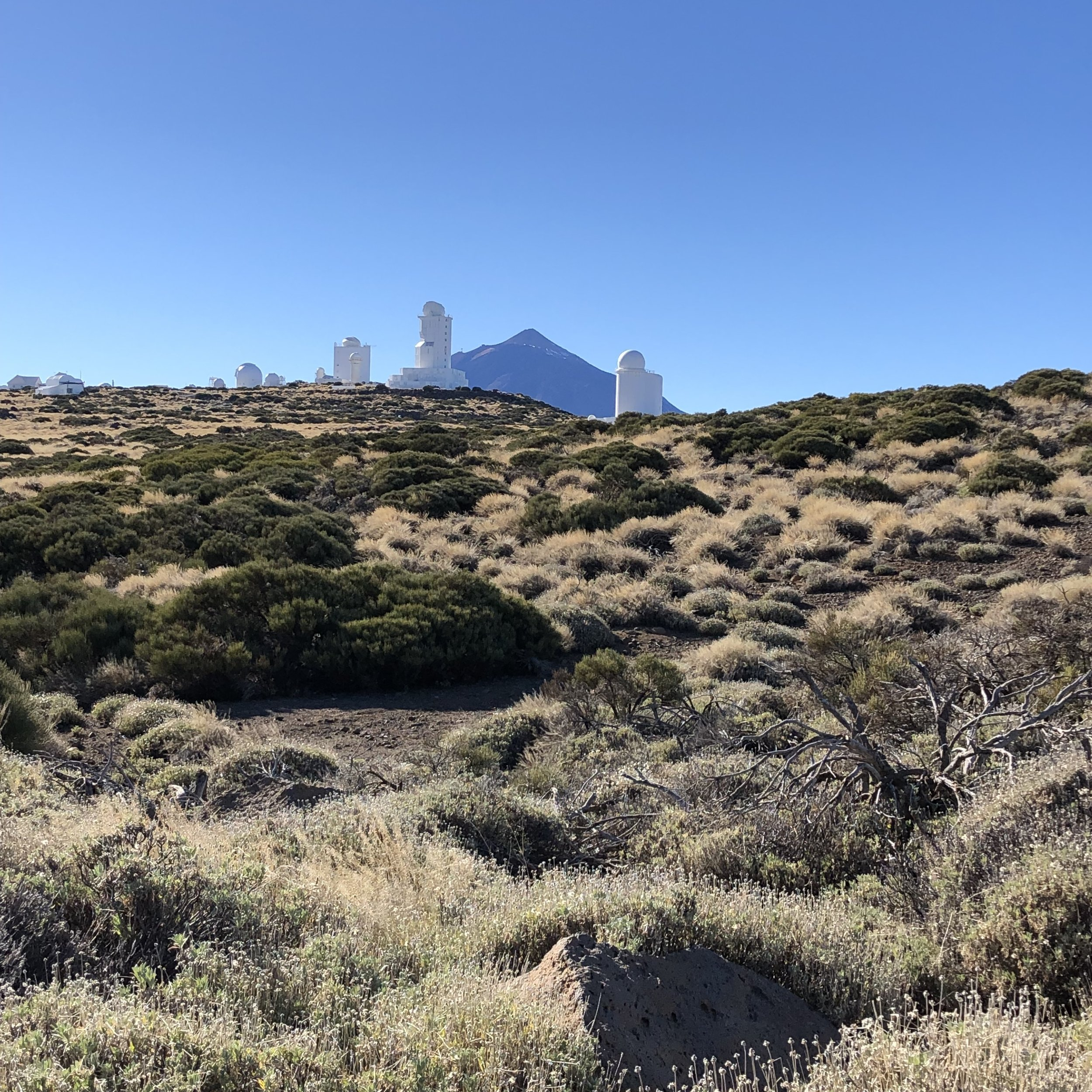 The Observatory at Teide.