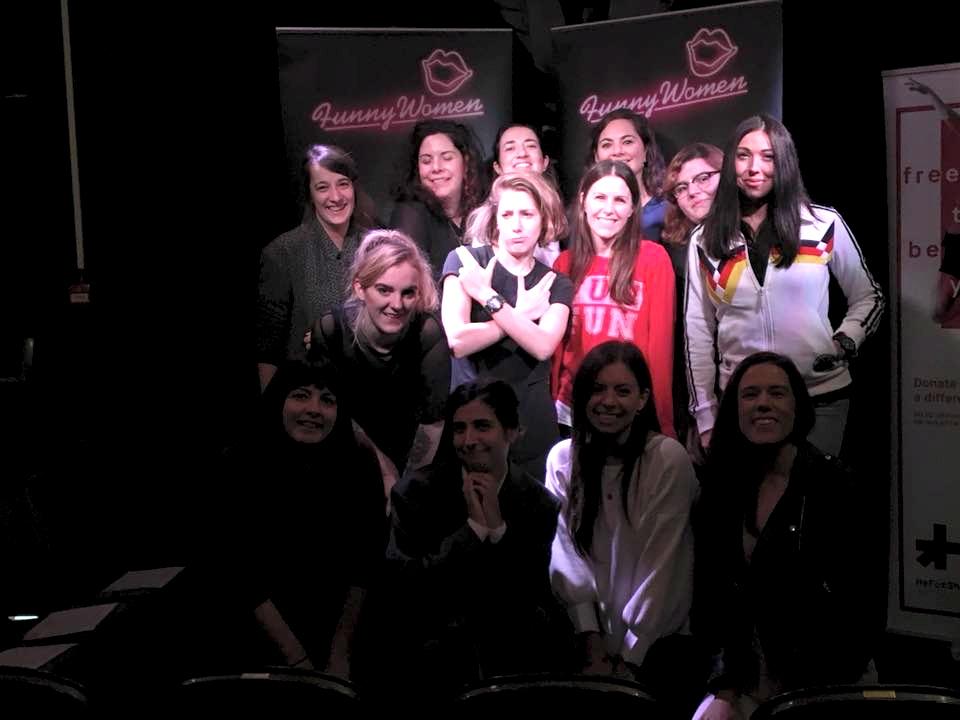 Cash Carraway at the Funny Women Awards 2017