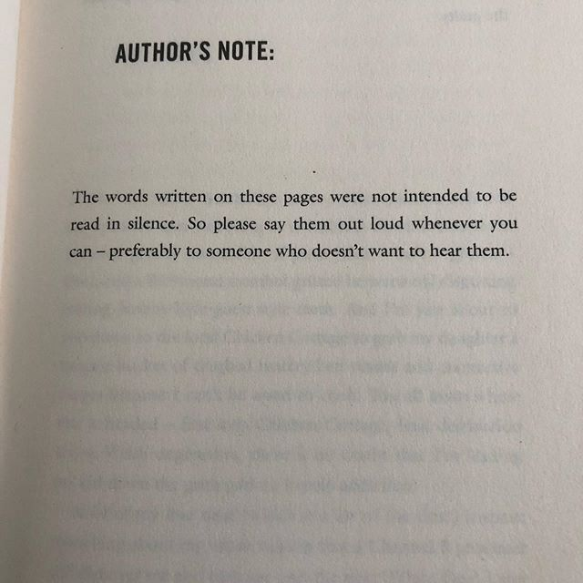 Authors note from Skint Estate by Cash Carraway