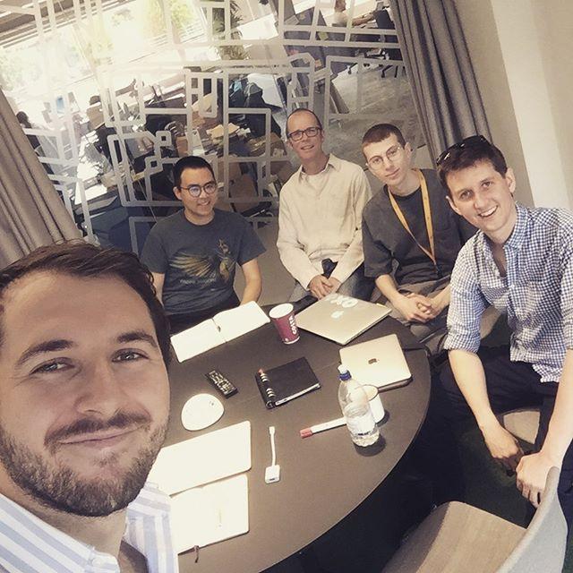 Development Team Kick-Off Meeting🙌🙌 Let's get building!! 💪💪💥💥🚀🚀 #Geovation @renkap_insta #guyswhocode #proptech #tech