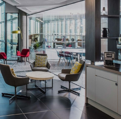 Regus     Regus provides premium co-working space and private offices all over the country. Local regus members can chose to work from co-working spaces in downtown at city plaza, North Hills Tower II, The Cap Trust Tower, Forum I, or many other locations around the triangle.