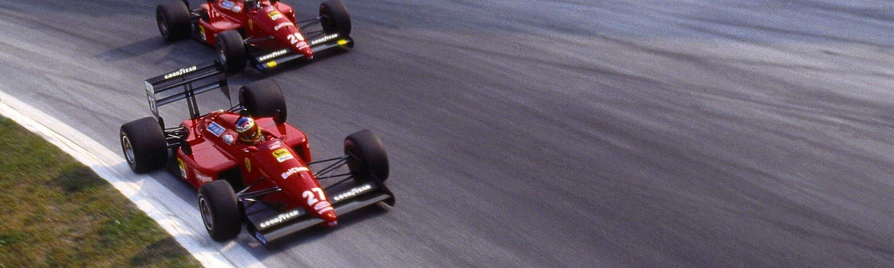 ferrari F1 87-88C - Michele alboreto - Silverstone 1988