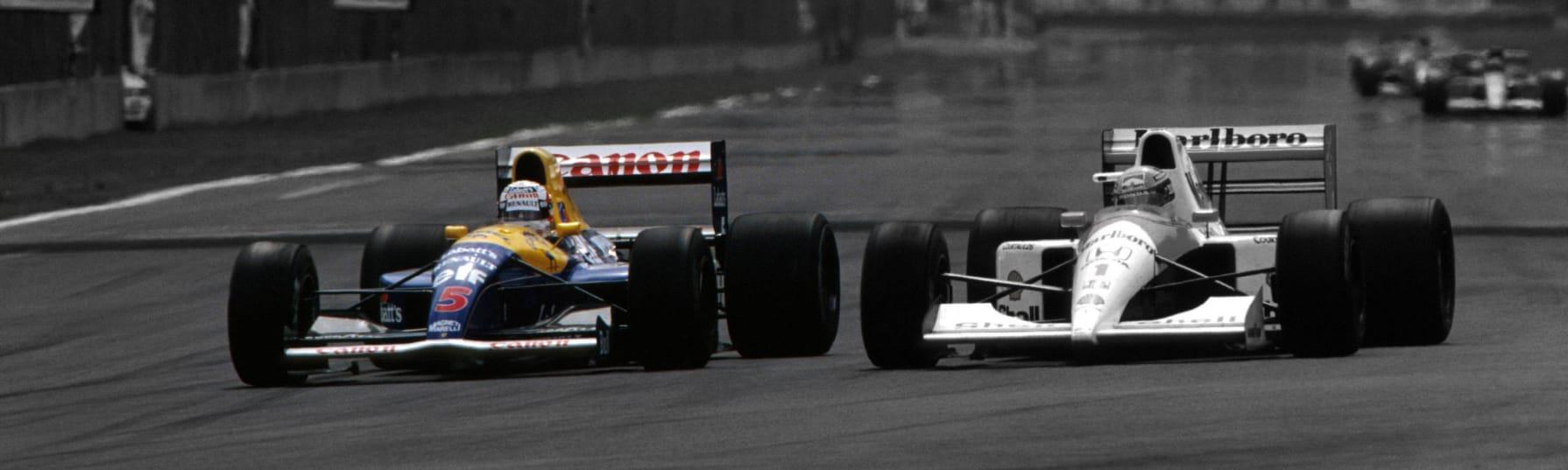williams fw14b-renault - nigel mansell 1992