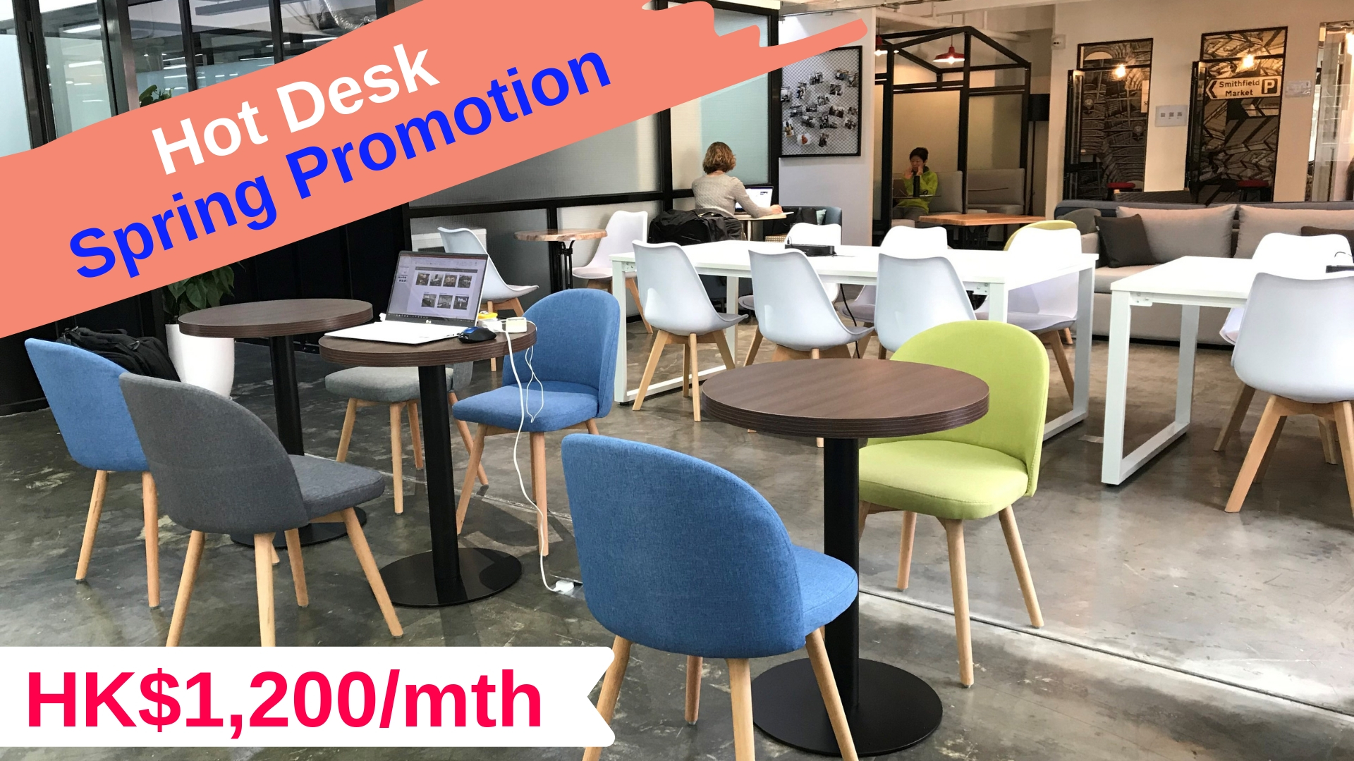 Hot Desk   from HK$960 per month