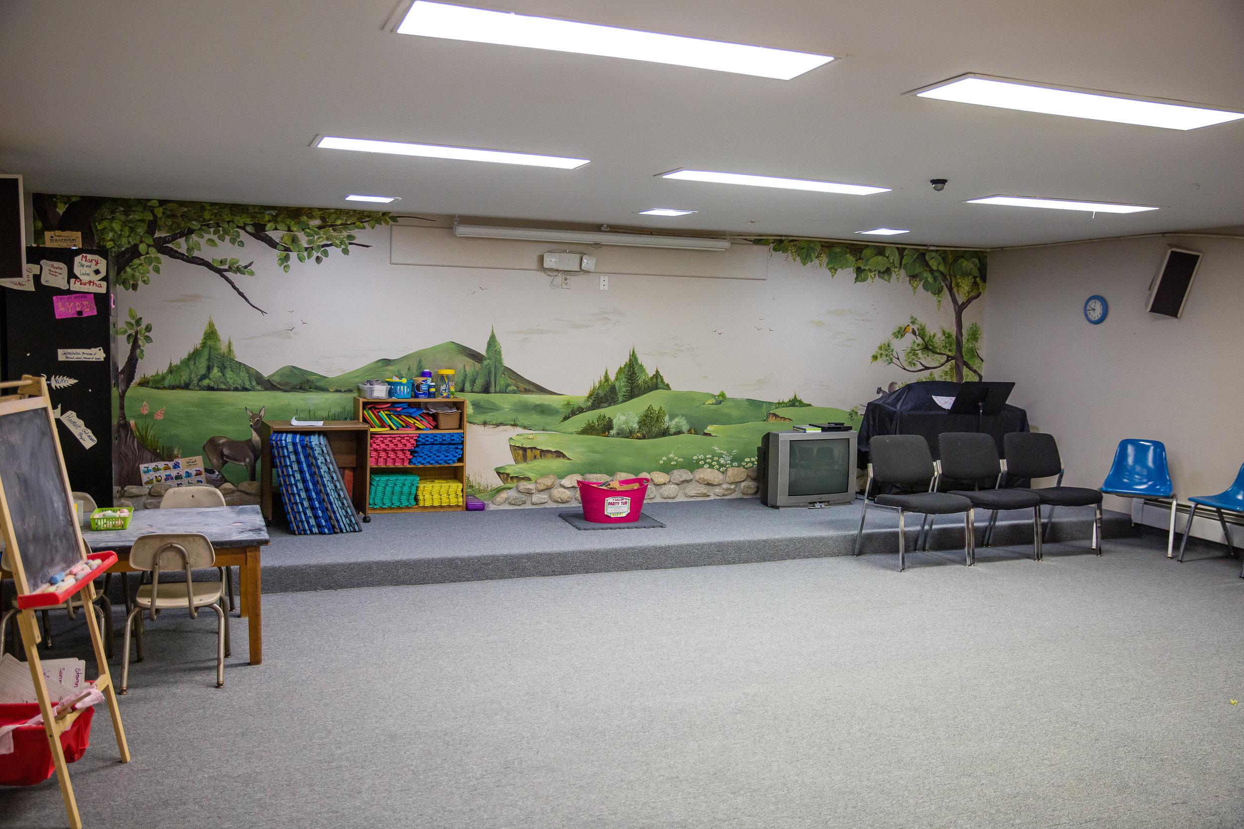 Children's Church is full of different activites!