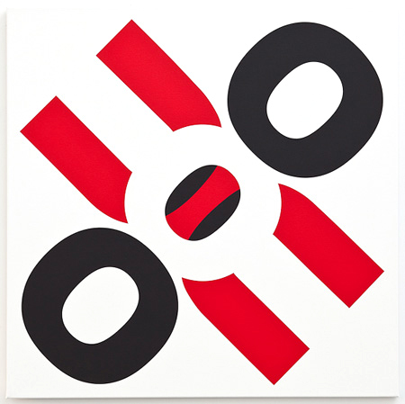 OU / 1 / 2012 / 100 X 100 cm / acrylic on canvas