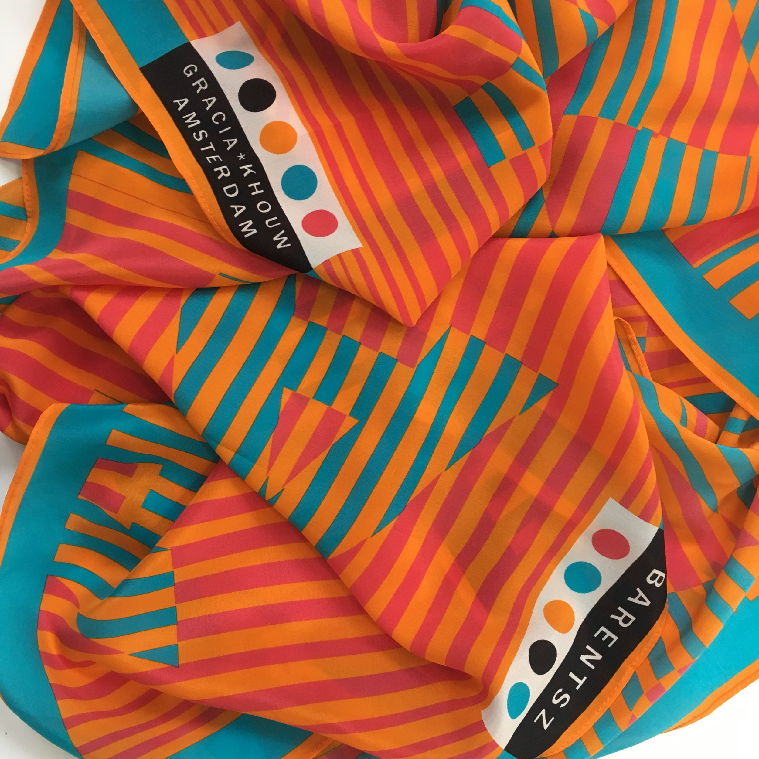 IAMNOT limited edition / scarf, 100% crepe de chine, 70x170cm, €89