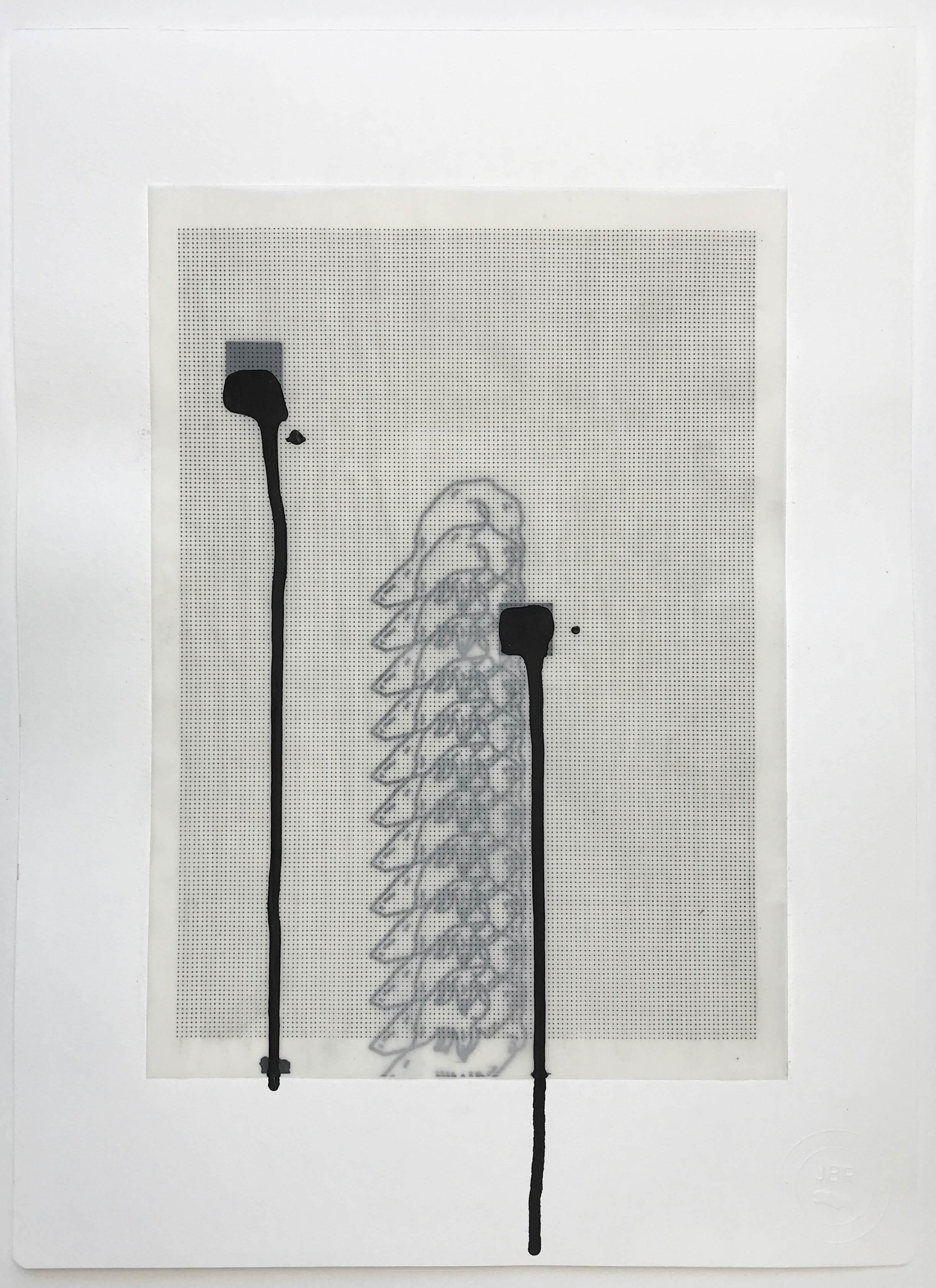 %22Estigmatizada y temida%22- Técnica mixta  - 42 x 30 cm - Julián Brangold - 2018.jpg