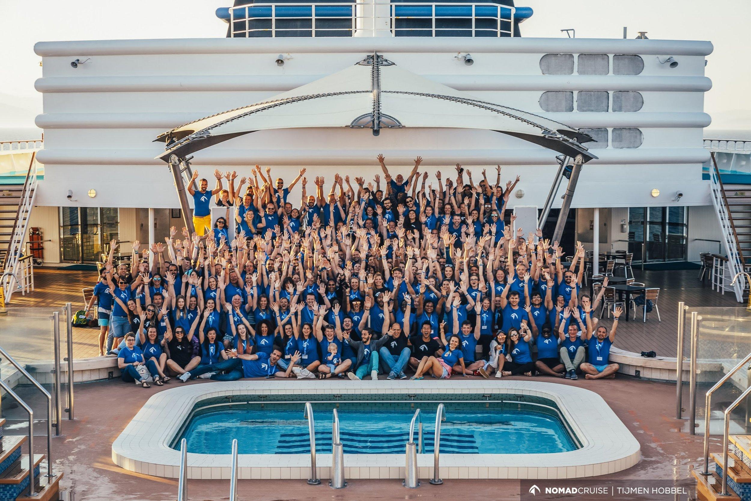 Nomad Cruise 6 Group Photo