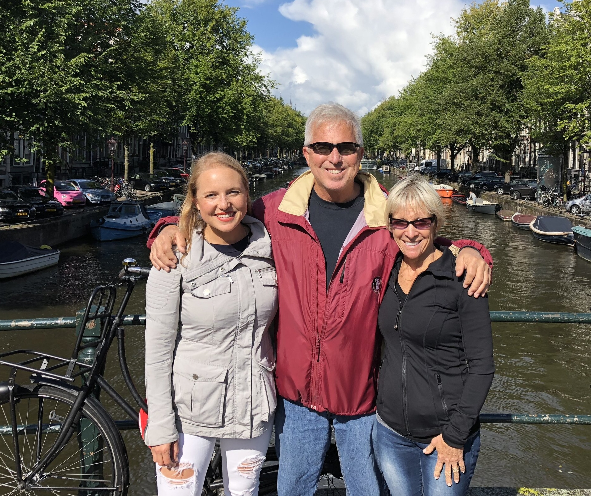 Meeting up with my parents in Amsterdam (August 2018)