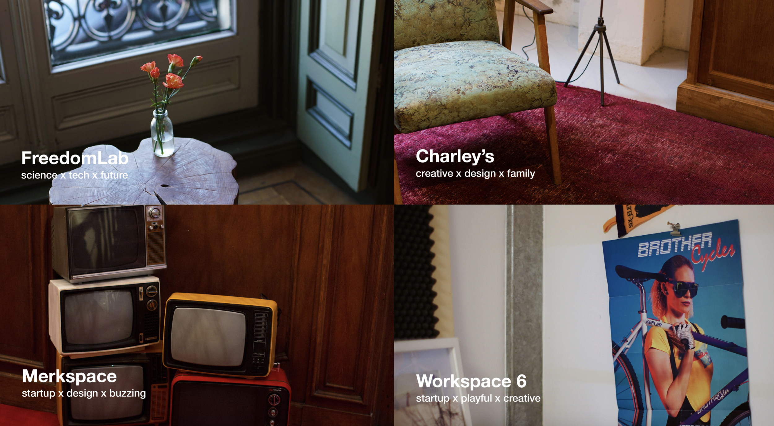 Choose from an array of co-working spaces in Amsterdam for one monthly price!