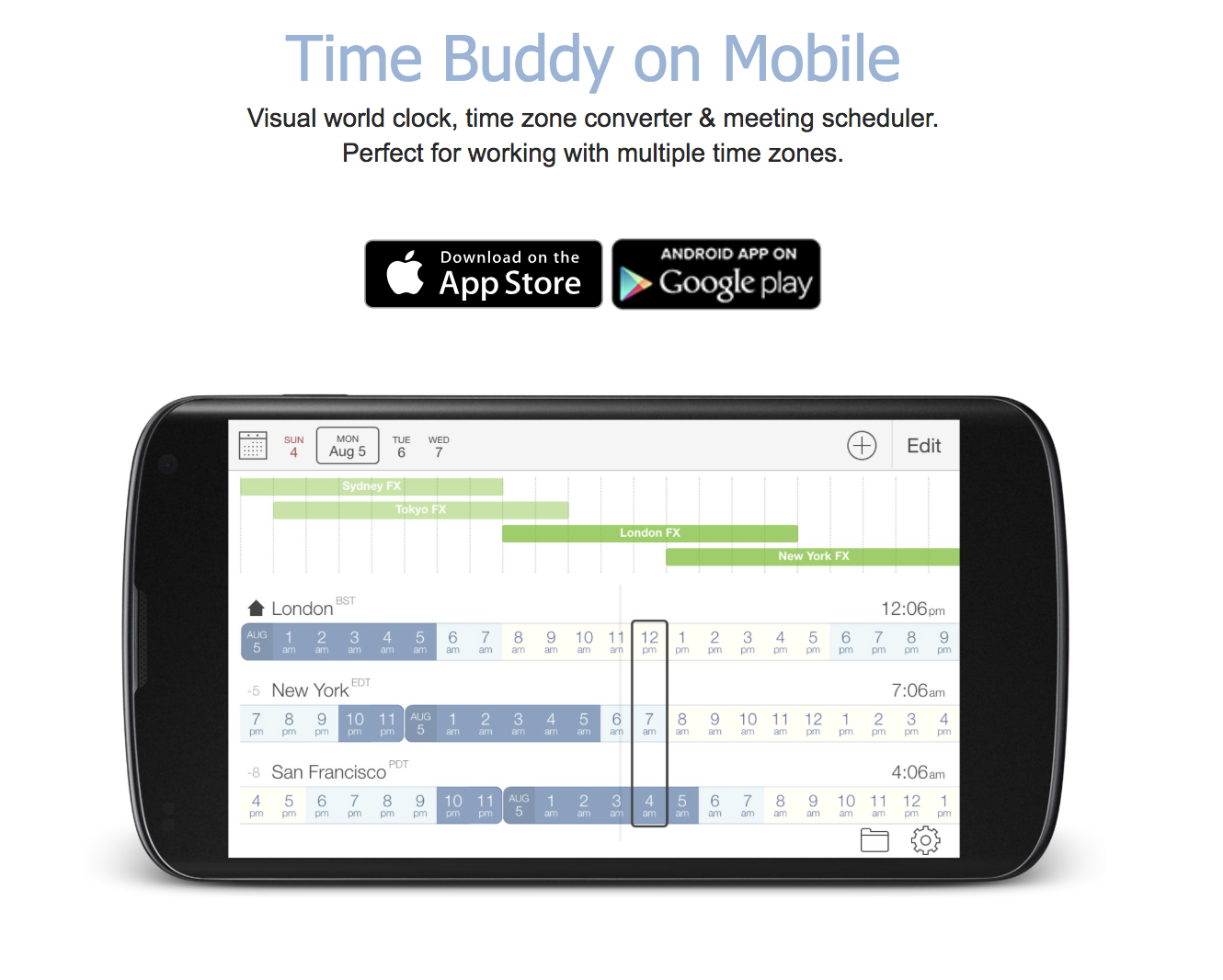 Download the World Timezone App Here
