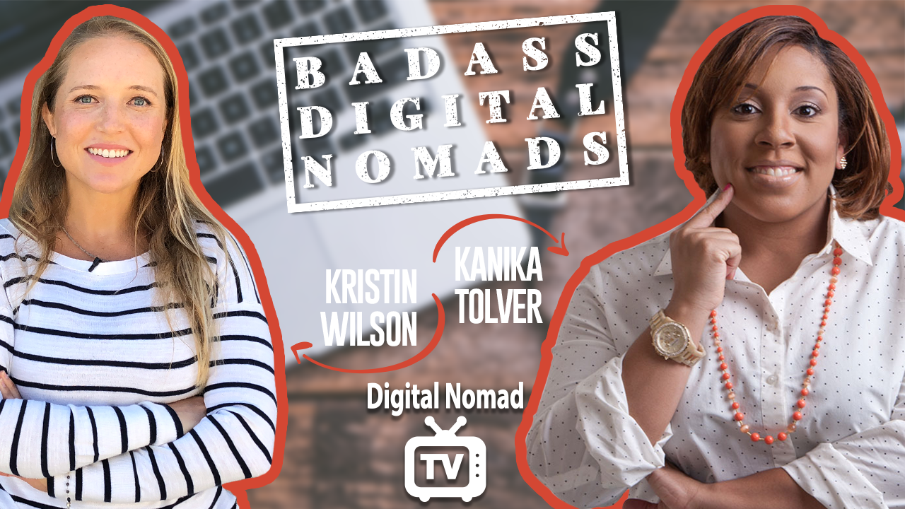 Kristin Wilson and Kanika Tolver Talk Remote Jobs