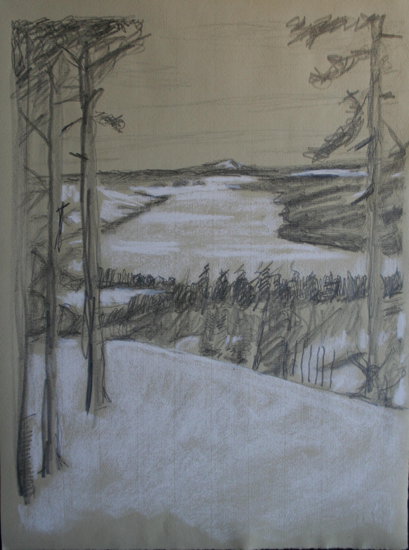 Alsen Lake Frozen